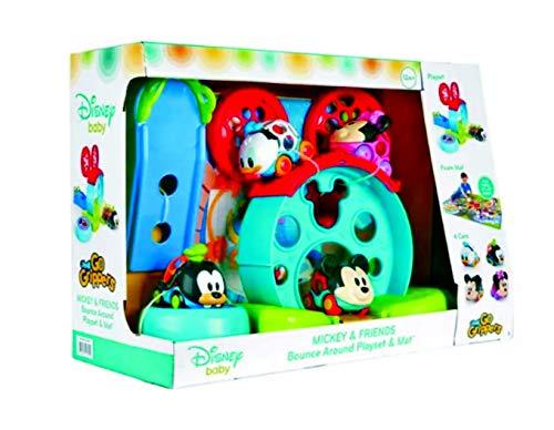 Livre Disney Bebe Mickey Et Ses Amis Go Grippers Cars Oball