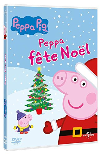 Dvd peppa pig peppa f te no l import italien france jeux - Peppa pig francais noel ...