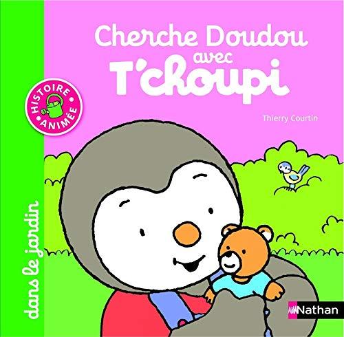 Livre cherche doudou avec t 39 choupi dans le jardin d s 1 an et demi france jeux - Tchoupi et le poney ...