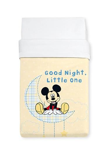 Livre Disney Maison Couverture Lit Bebe Mickey 100x130 Beige
