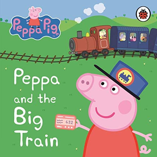 Livre peppa pig peppa and the big train my first storybook by peppa pig february 2011 - Jeux de papa pig ...