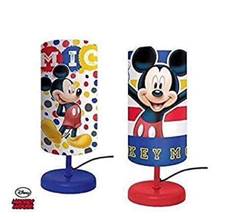 Chambre Enfant Lampe Chevet Cylindre En Mickey Mouse Livre De OyvN0wm8n