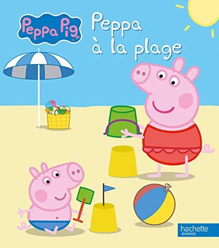 Livre peppa pig peppa la plage france jeux - Peppa cochon a la plage ...