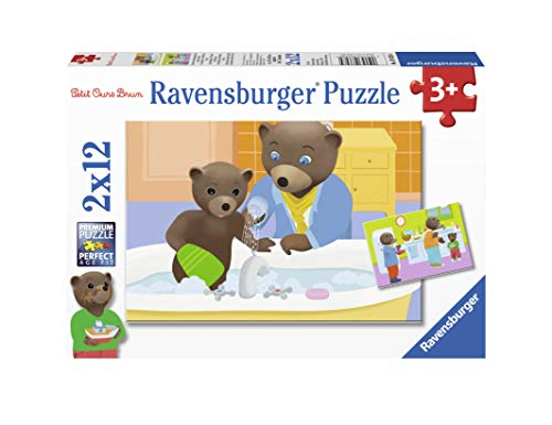 Ravensburger 2 12 Pieces La Famille Puzzle Casse Tete Enfants Garcon Jouet Fille 3 Ans Jeux Petit Brun Ours 4005556076284 France Jeux